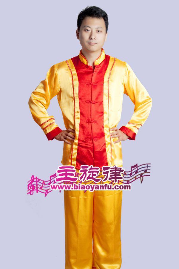 H-005男汉对襟