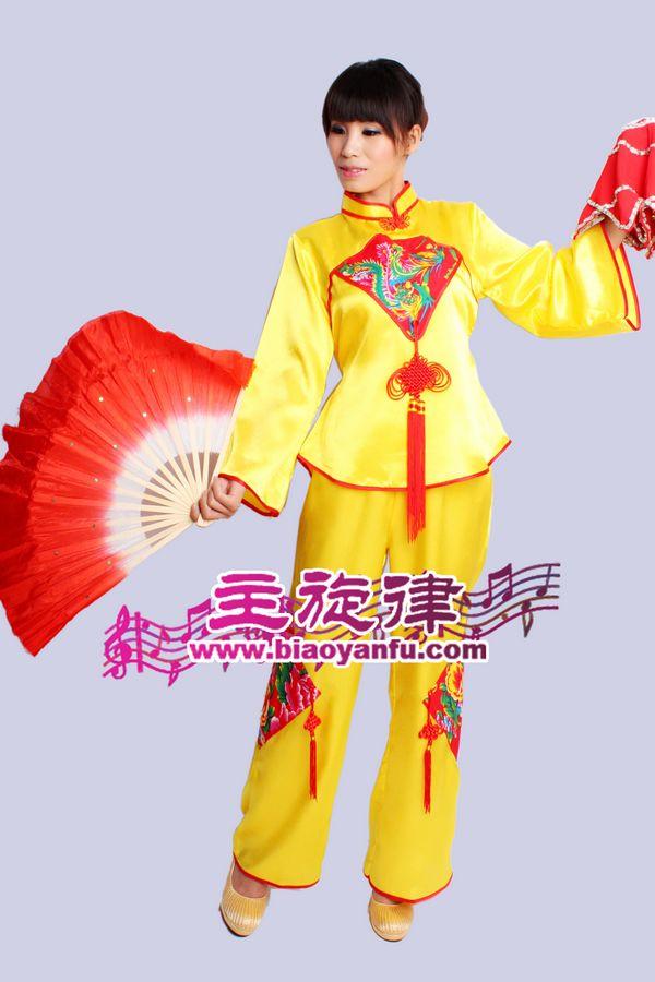 H-015汉族黄色中国结