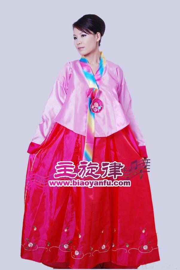 Y-003韩服粉红