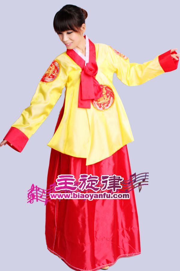 Y-005韩服黄红色