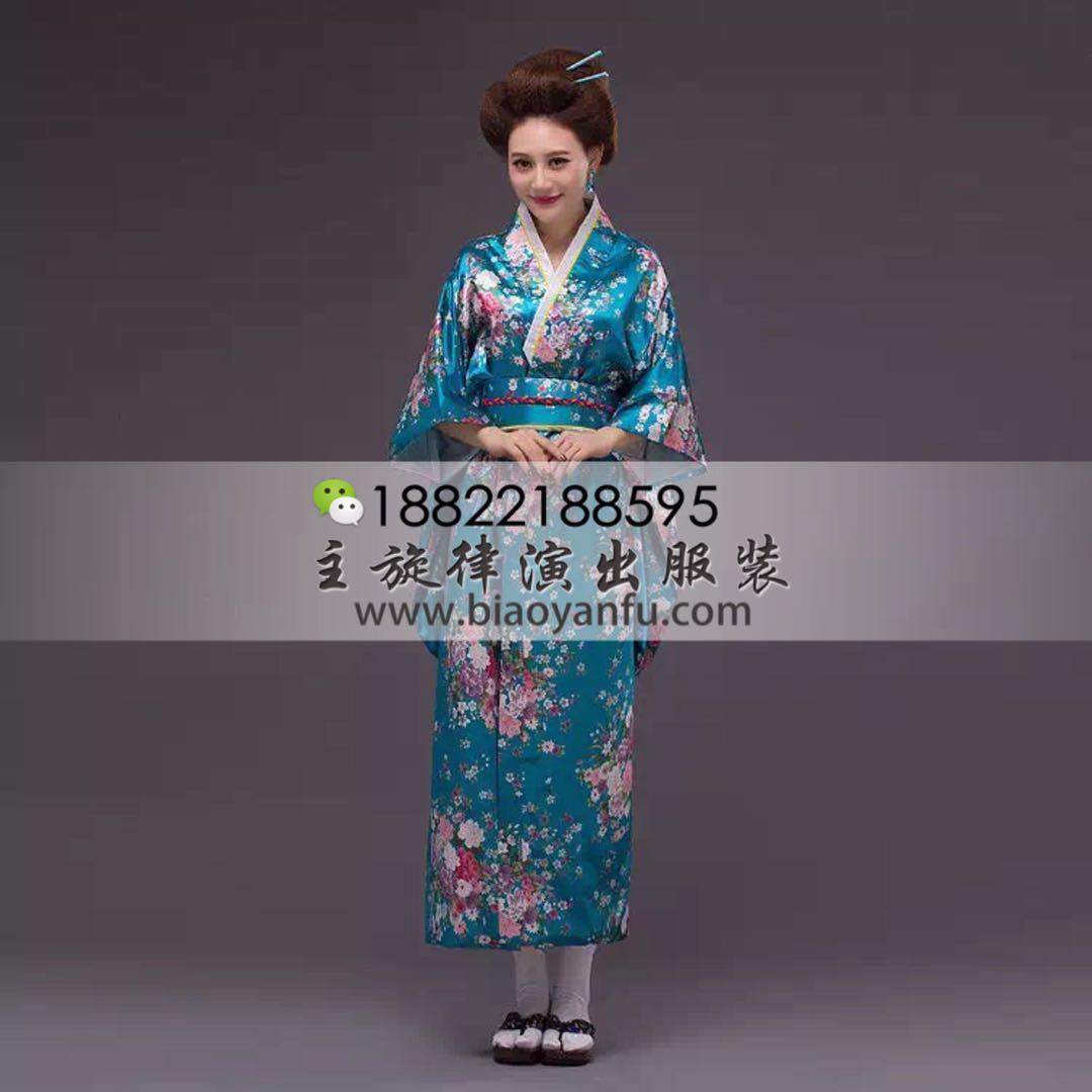 HK-032日式和服蓝