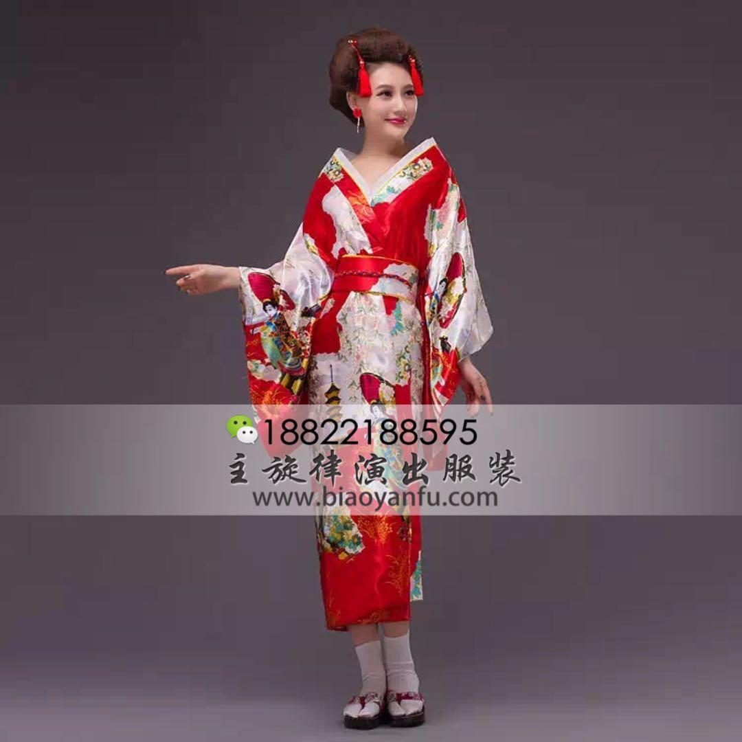 HK-035日式和服红