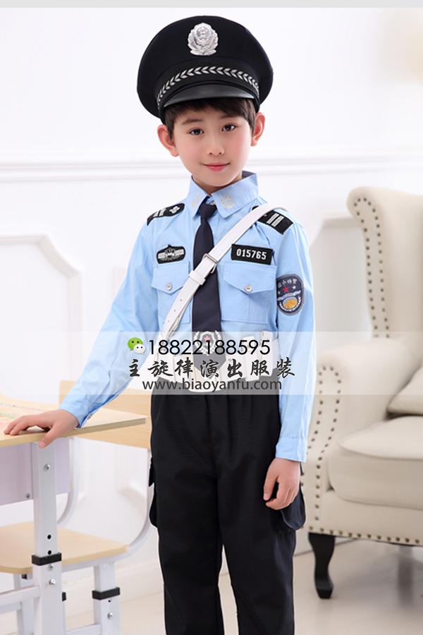 WE091男童警察服
