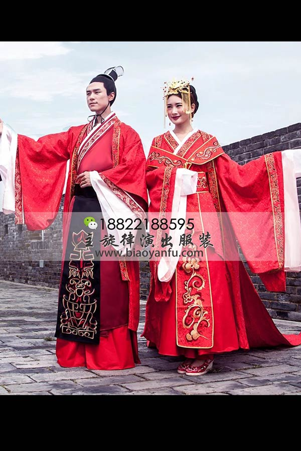 GN-199高档结婚汉服红