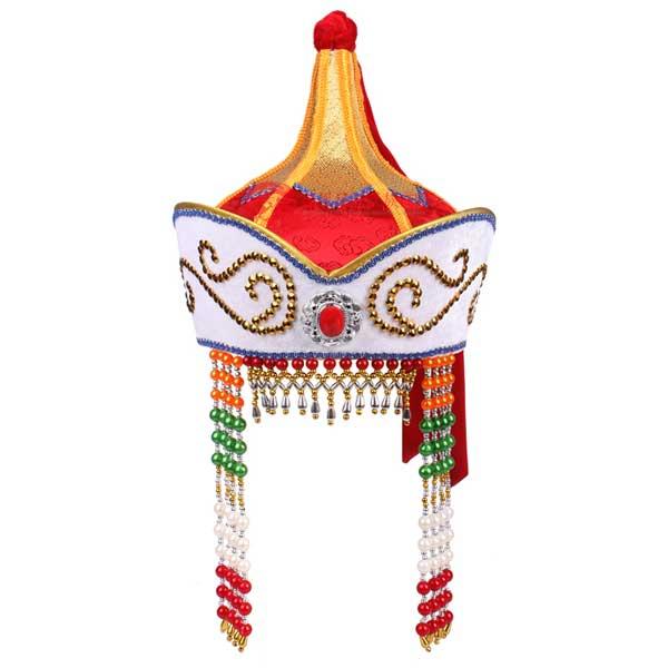 ht43女蒙古帽红