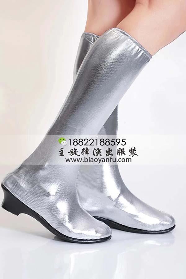 ht45银色靴子