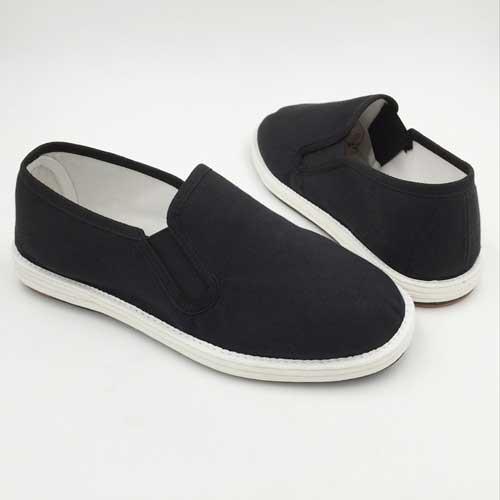 ht47男生黑布鞋