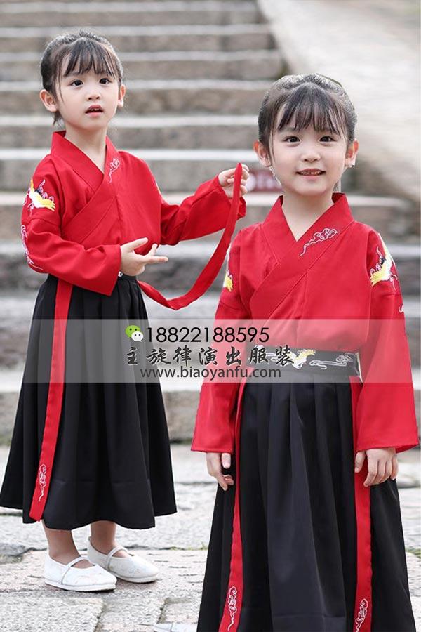 HF023-襦裙红黑