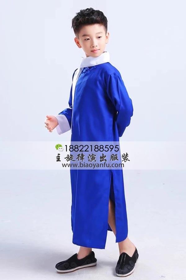 HF025儿童长衫宝兰