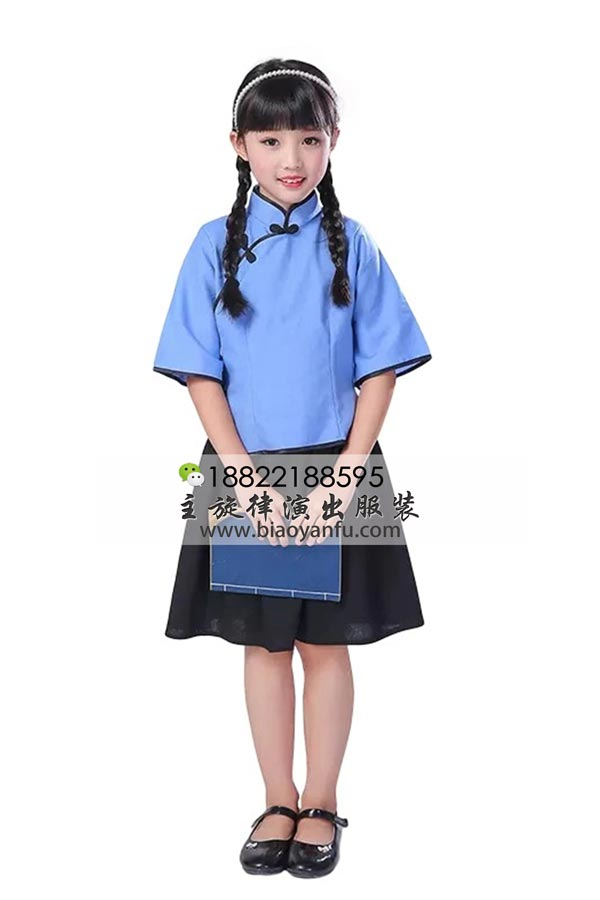 HF026女童-五四学生装