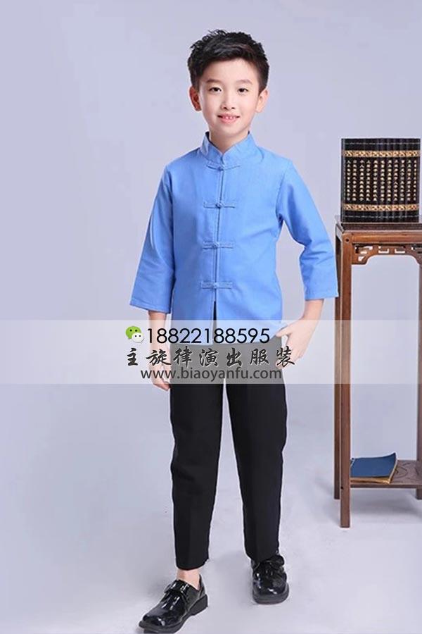 HF027男童-五四学生装