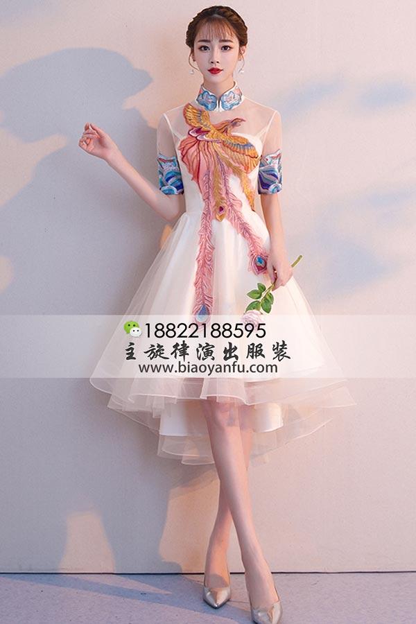 短礼服198香槟中国风