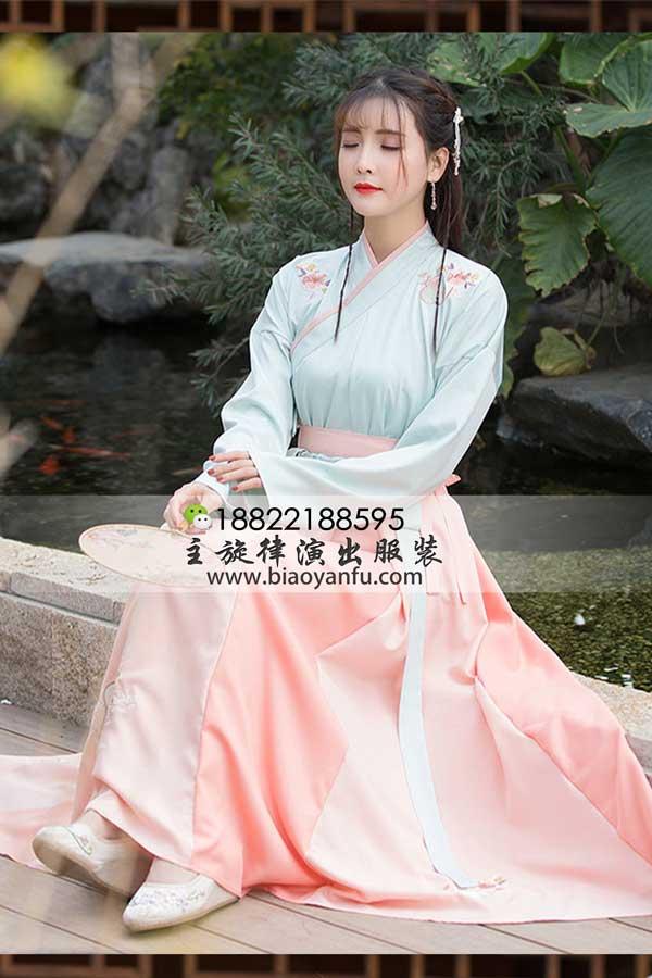 G-053橘色儒裙