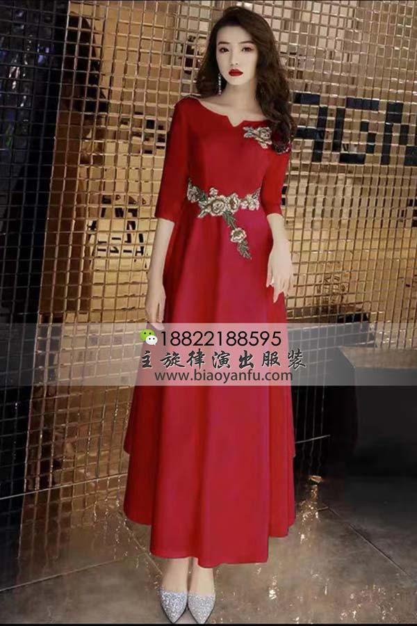 短礼服201红圆领